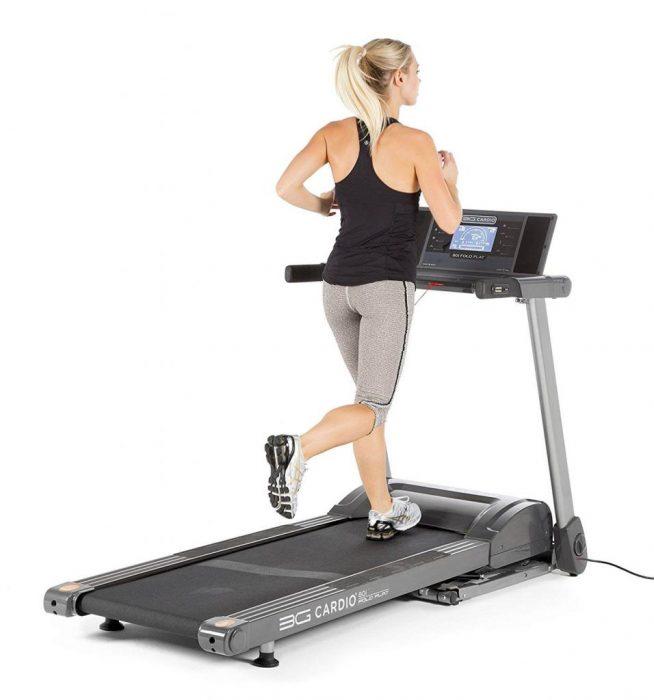 3G Cardio 80i silent treadmill