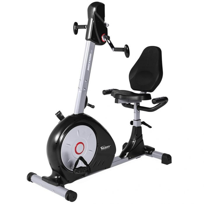 4 Best Recumbent Exercise Bikes With Moving Arms Exerciser