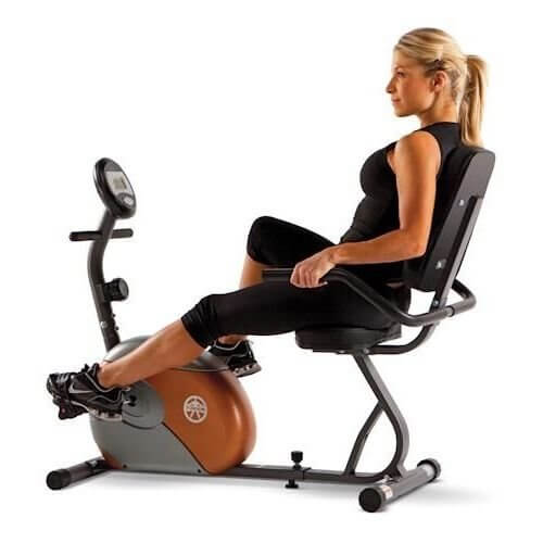 Marcy ME-709 Recumbent Stationary Bike Review