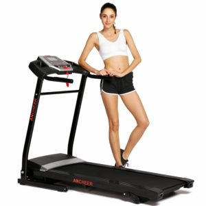 Ancheer Electric treadmill - 265 pounds Weight limit