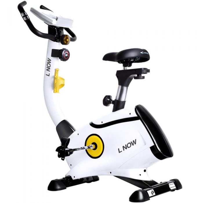 L NOW Magnetic Upright Exercise Bike