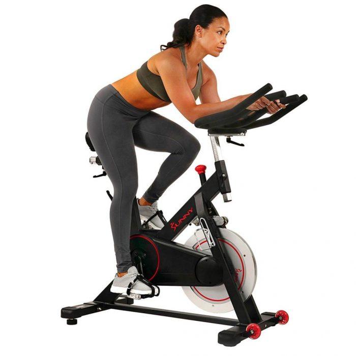 Sunny Health & Fitness SF-B1805Magnetic Belt Drive spin Bike