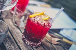 Pink Adult Drink